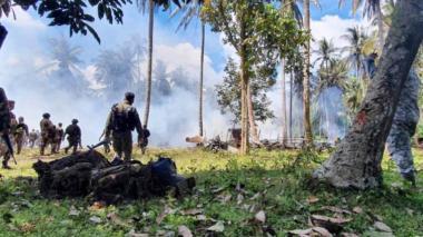 A 50 ascienden los muertos de accidente de avión filipino