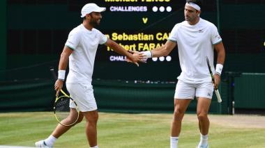 Farah y Cabal clasificaron a cuartos de final de Wimbledon