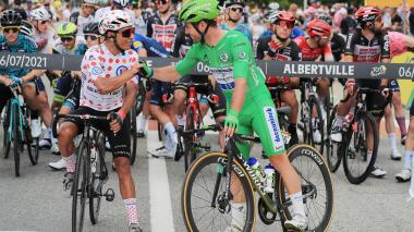 """Nairo Quintana espera """"un gran día en el Mont Ventoux"""""""