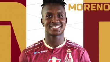 Daniel Moreno jugará con Deportes Tolima