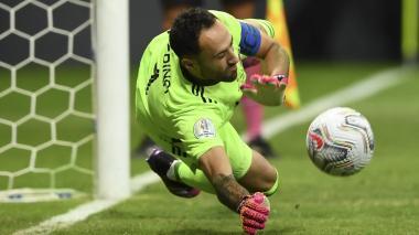 David Ospina resaltó el nivel de Colombia frente a Argentina