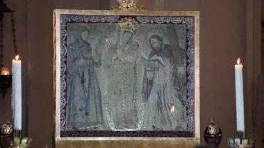 La Virgen de Chiquinquirá  estará en los Jardines del Vaticano