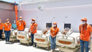 Hospital de Pivijay recibe 16 nuevas camas uci