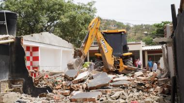 Autoridades derribaron 'olla' de microtráfico y patio rumbero en Santa Marta