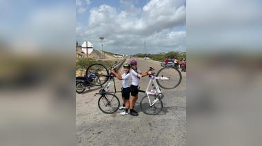 En bicicleta desde Santander a La Guajira por una noble causa