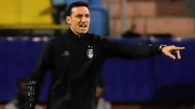 Scaloni dice que buscan consolidar un proyecto, no tener una revancha contra Brasil