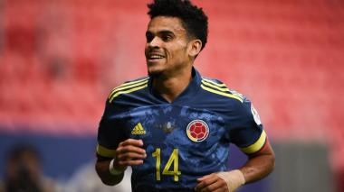 Luis Díaz mostró su felicidad por su Copa América