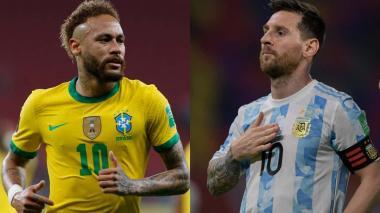 El superclásico Brasil-Argentina definirá por cuarta vez la Copa América