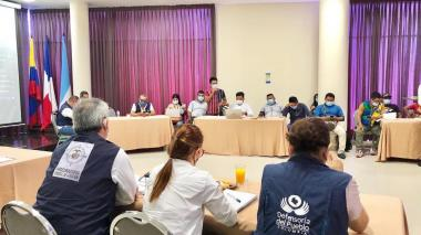 Se firman primeros acuerdos para retorno de familias Emberá en Córdoba
