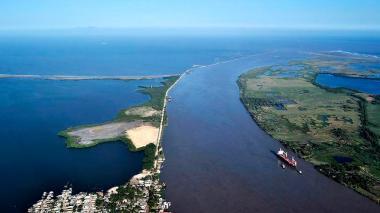 Las obras clave para el canal de acceso en la APP del río