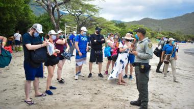 15 periodistas expertos en turismo visitan a Santa Marta