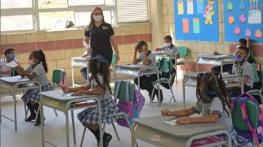 Colegios del Atlántico regresan a presencialidad desde este lunes