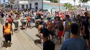 Tensa situación se vive en Cuba tras alocución presidencial