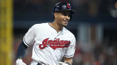 Óscar Mercado brilló con los Indios de Cleveland