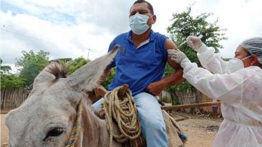 La vacunación contra la covid-19 no tiene límites en Sucre