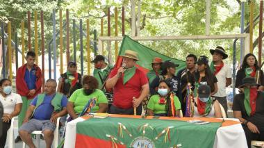 La Minga indígena está de visita en Santa Marta