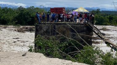 En alerta máxima autoridades de Arauca por altos niveles en los ríos