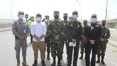1.100 policías y militares vigilarán las marchas del 20 de julio en Barranquilla