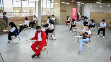 Avanzan trabajos de mejoras en sedes de 37 colegios del Atlántico