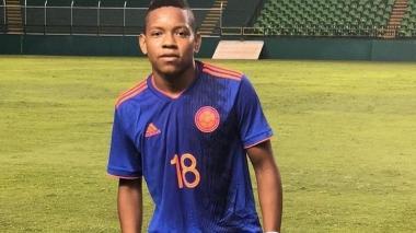 Jesús Díaz fue convocado a la Selección Colombia Sub-17