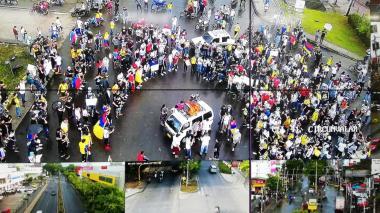 En Montería ajustan detalles para garantizar las protestas este 20 de julio