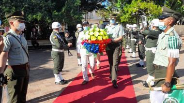 Autoridades de Sucre conmemoran el 20 de Julio