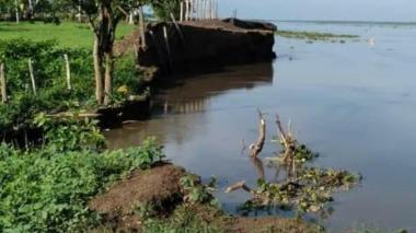 Piden a Cormagdalena claridad sobre erosión fluvial en Salamina