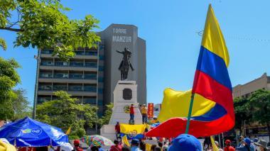 Así vivió Barranquilla la jornada de protestas