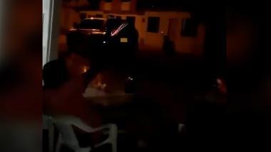 Denuncian a expolicía por hacer tiros al aire durante una fiesta en Montería