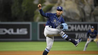 Luis Patiño fue llamado al roster de los Rays de Tampa