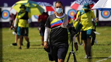Acosta y Pineda, afuera de equipos mixtos en tiro con arco en los Juegos Olímpicos de Tokio
