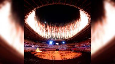Hitos de una atípica inauguración olímpica
