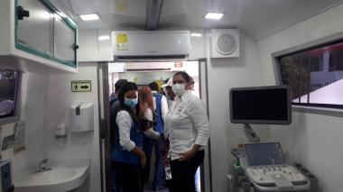 Clínica rodante de la Fundación Siemens llegó a la Guajira