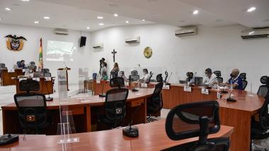 Concejo de Barranquilla regresa a la presencialidad