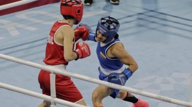 Jenny Arias avanzó a los cuartos de final del boxeo en los Juegos Olímpicos
