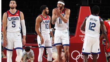 Estados Unidos sumó su primera victoria en los Juegos Olímpicos de Tokio