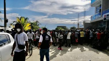 Necoclí no tiene cómo atender a los migrantes: alcalde de ese municipio