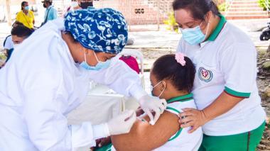 Se inició vacunación de población en condición de discapacidad en Sincelejo