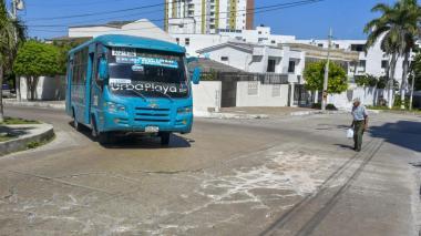 Ruta de buses Urbaplaya, otra víctima de la pandemia