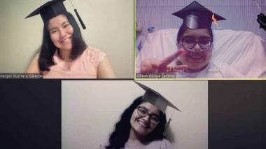 Joven sustentó tesis de grado desde hospital tras permanecer en uci por covid