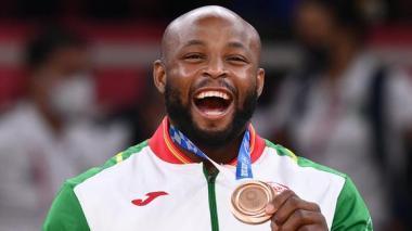 La polémica dedicatoria de judoca portugués a Puma y Adidas tras ganar bronce en Tokio 2020