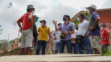 Vías, cancha, puente y espacios públicos le darán otra cara al barrio Las Américas