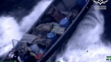 Armada incauta 965 kilos de marihuana en cercanías a San Andrés