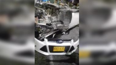 Hombre resultó herido tras accidente de tránsito en la Avenida Circunvalar