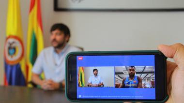 """Barranquilla te espera con carro de bomberos, Anthony"": Jaime Pumarejo"