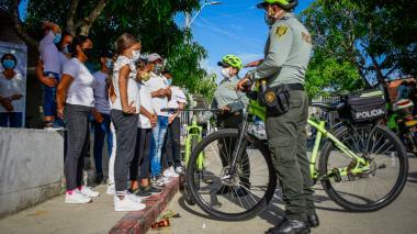 Policía de Vecindario: un respiro de tranquilidad en Las Américas