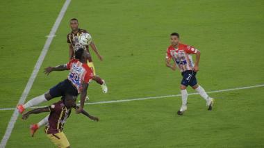 Dany Rosero valoró el rendimiento de Junior frente al Tolima