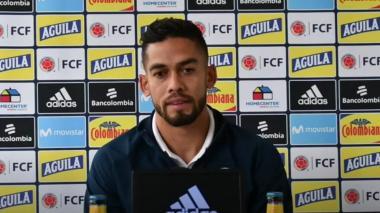 Andrés Andrade mostró su felicidad por estar en una convocatoria de la Selección Colombia