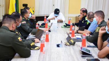 Autoridades inician acciones para contrarrestar inseguridad en Ciénaga