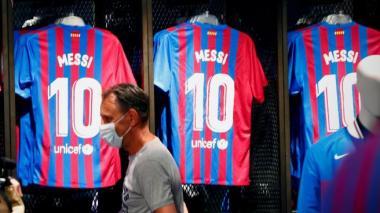 ¿Qué pasará con las camisetas del Barcelona con el apellido Messi?